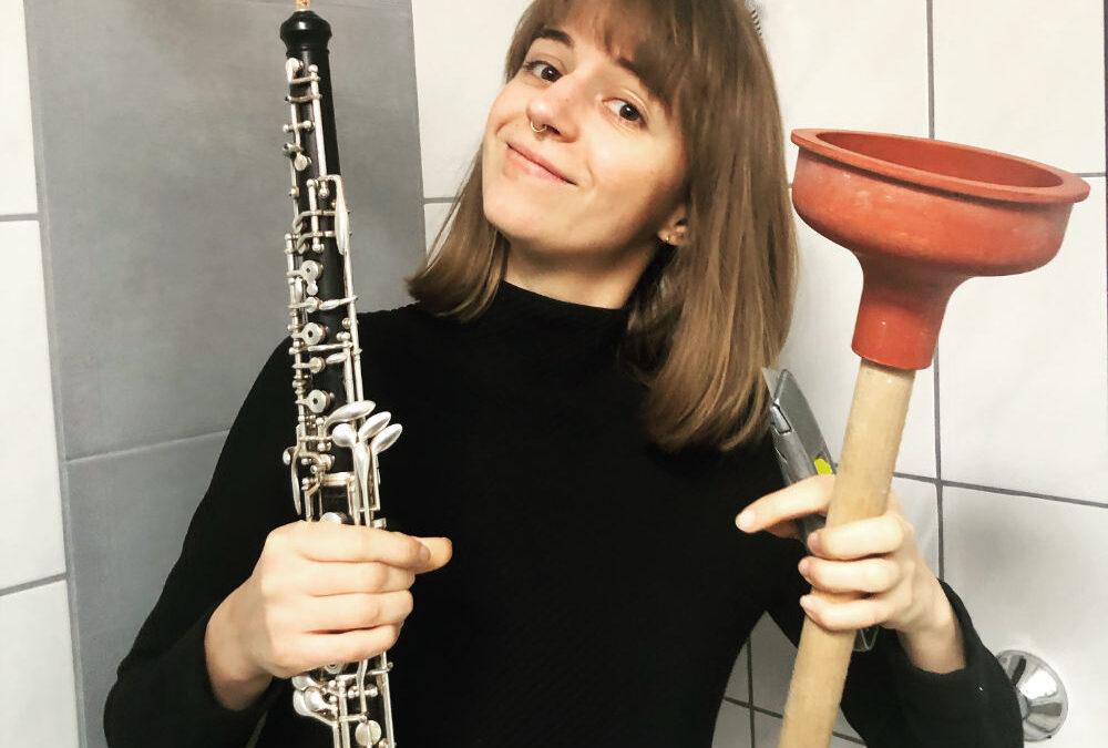 Oboe-Talk: Ich bin kein Klempner, ich bin ein Oboist!