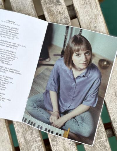 """""""Worte ohne Lieder"""" von Miriam Hanika, Innenansicht"""